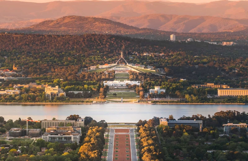 Canberra is Australia's state Capital